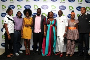 Music legends, Adewale Ayuba, Stella Monye, Mike Okri, pair up with the top 3 contestants tonight on Nigerian Idol