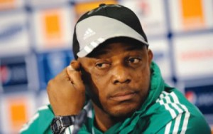 Super Eagle Coach, Stephen Keshi blames wasteful strikers for Confederations Cup exit
