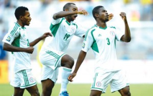 Nigeria beat Tahiti 6-1, top group