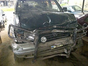 When Learning How To Drive A Car Becomes A Deadly Move; A GIRL`S LIFE WAS SAVED BY AN ANGEL!