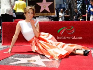 RW Exclusive: Jennifer Lopez Becomes 2,500th Star To Be Recognized On The Work Of Fame As Tears Of Joy Drop Through Her Eyes!