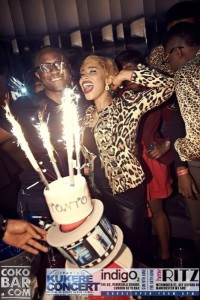 Tonto Dikeh Stormed London, As She Marked Her Birthday In Style At The Coko Bar London.
