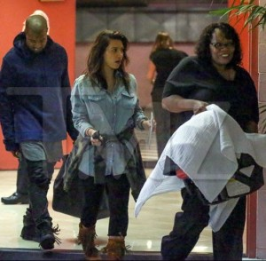 Kim & Kanye Makes First Appearance with their Baby