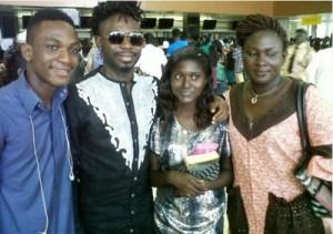 Ace Musician OJB departs Nigeria for kidney transplant abroad