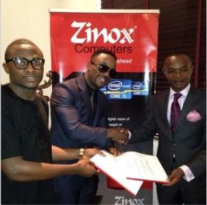 Iyanya now brand ambassador of Zinox computers for $350,000.00