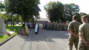 British Nigerian soldier dies during training