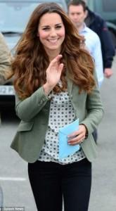 Post Childbirth: Photos of Kate Middleton