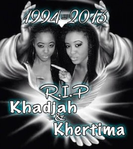SAD: Twin Sisters Khadijah and Khertima Taylor Die in an auto crash