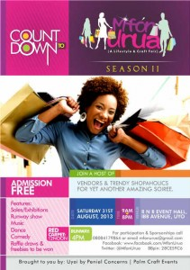 UPCOMING EVENT: Shop Till You Drop at Mfon Urua & Craft Fair Season 2