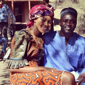 Photos: Akon & Yvonne Nelson Star In New Hollywood Movie By Djimon Hounsou
