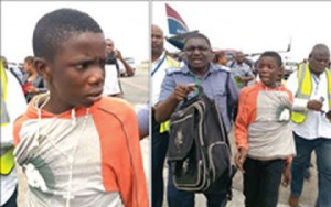 Boy found in Arik aircraft's wheel thought the plane was going to The United States