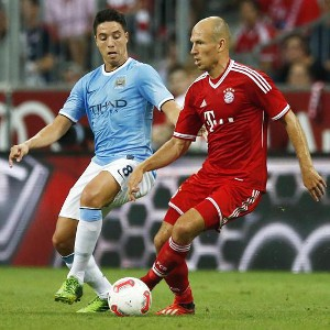 BAYERN MUNICH BEAT MANCHESTER CITY 2-1 IN THE FINAL OF EUROPEAN CHAMPION'S PRE-SEASON TOURNAMENT