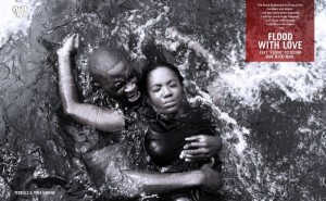 Teebillz rescues fiancée Tiwa Savage from drowning – Flood with Love Campaign