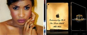 Tonto Dikeh Gets A Customized 24carat Gold Ipad & other Gifts To Stop Her from Killing  Herself.