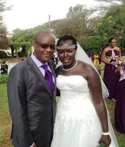 Photo news: Emmy Kosgei weds Apostle Anselem Madubuko
