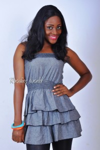 Meet Face Of Rhodies World Contestant No. 1 – Miss Anita Idusuyi