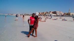 Newlyweds Iniobong & Emem Honeymoons In Dubai | See Photos