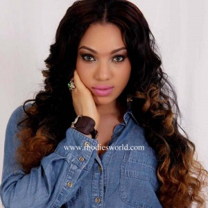 NOLLYWOOD ACTRESS QUEENETH HILBERT RELEASES PHOTOS OF HER GORGEOUS NEW LOOKS.