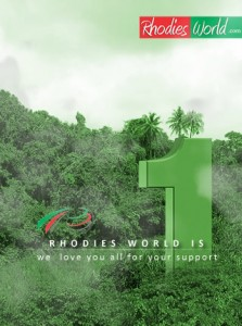 Rhodies World.com at 1  –  The Journey So Far.