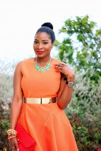 "Photos: Agatha dazzles in new dress to start the spring + it`s ""International happy day edition"""