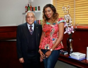 """Nollywood Actress, Chika Ike Is The New Face Of """"Bullet Energy Drink"""" 