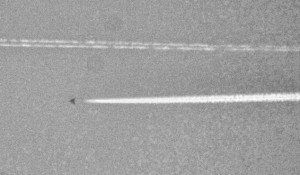 Photo: Mysterious triangular craft seen flying over Texas | UFO