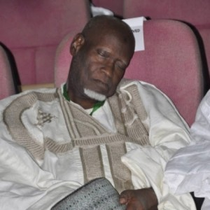 Tragedy: A delegate at the National Conference, Hamma Misau dies.
