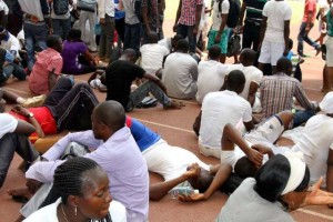 NATIONAL DISASTER:  More Than 7 People Feared Dead At The Venues Of The Nigerian Immigration Service Recruitment – Watch Video