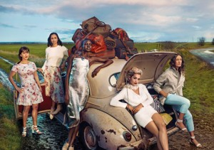 RW Fashion: Marks & Spencer's Ad Campaign With Lulu Kennedy, Rita Ora, Alex Wek & Others | Photos