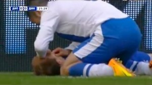 A Ukrainian Player Saves Opponent`s Life After Collision |Watch Video