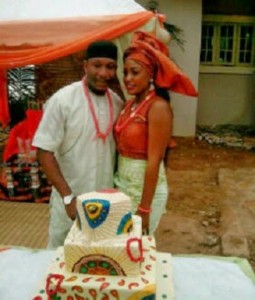 Tchidi Chikere weds Nuella Njubigbo in a traditional wedding ceremony today