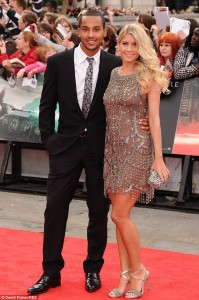 Arsenal Player, Theo Walcott And Melanie Slade Announce The Birth Of Their First Child Finley Via Facebook