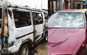 60 Robbers invades 8 streets, rape several women & destroy 30 cars in Mushin-Lagos for an average time of 7-hour rampage.