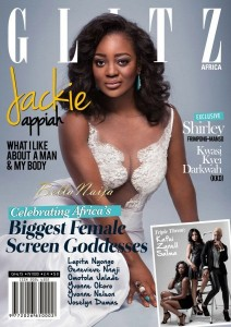 Ghollywood Actress, Jackie Appiah Graced The Cover Page Of Glitz Africa's New Issue| The Magazine Movie