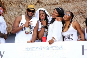 Exclusive Photos: The First Edition Of Hennessy Privilege All White Beach Party In Ilashe Beach Lagos