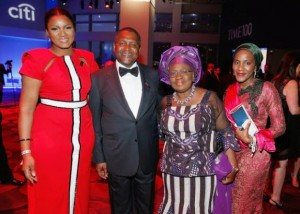 Omotola Jalade Ekeinde With A Questionable Fashion Choice + Aliko Dangote And Ngozi Okonjo-Iweala At Time 100 Gala In New York |RW Fashion Police Will Look Into This!