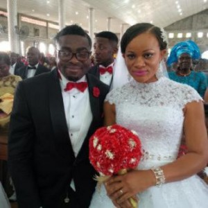 Photos: Nollywood Actress Uche Nnanna & Richard Maduka`s Wedding In Portharcourt Today