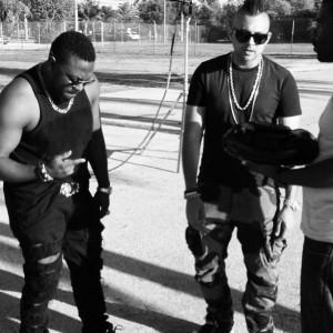 "Timaya`s New Video Titled ""Bum Bum"", Featuring Sean Paul  + Behind The Scene Photos"