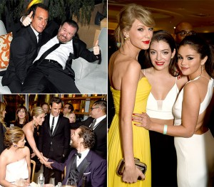 Inside Beverly Hilton Hotel, The Star-Studded AfterParty | Flashback From The Golden Globes Awards 2015