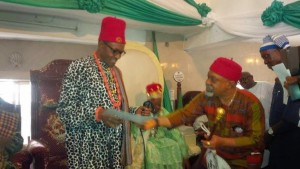 Buhari Awarded With Chieftaincy Title As He Campaigns In Abia