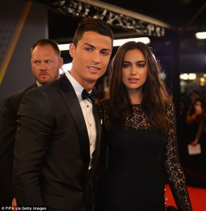 Real Madrid Star Player, Cristiano Ronaldo Split With Rusian Girlfriend Irina Shayk.