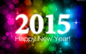 Happy New Year – Welcome To The Year 2015