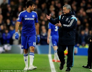Jose Mourinho fumes Over Diego Costa Charge As Chelsea Gets Set Ahead of Man City FC Clash