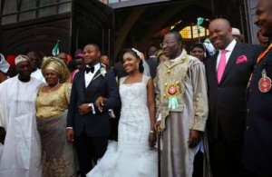 Photos From President's Daughter, Ini Jonathan's Wedding