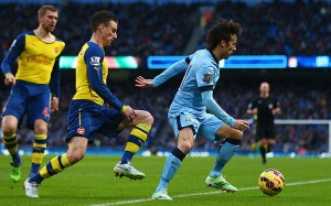 Arsenal FC Stops Manchester City`s Unbeaten Run With A 0-2 Win