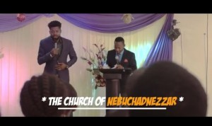 Hilarious Comedy Skit Of Basket Mouth's Church Sermon – Watch Video