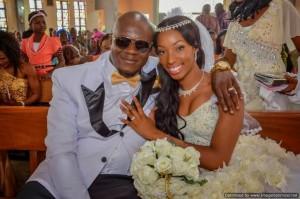 Photos: Beauty Queen Sheila Weds Chimaroke Nnamani's Nephew