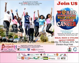 Project PINK BLUE: World Cancer Day