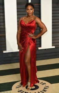 Photo : Check Out Serena Williams Dress To  Vanity Fair Oscar Party
