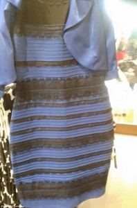 Photo :Is It White and Gold Or Black And Blue?